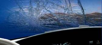 Трещины лобового стекла