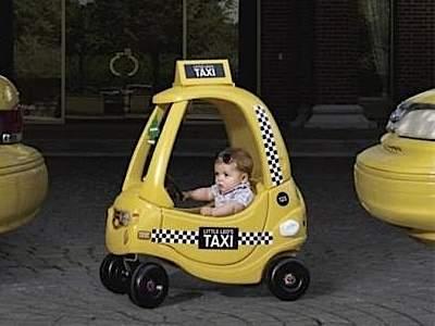 Перевозка детей в такси