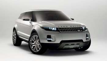 Кроссовер Land Rover LRX